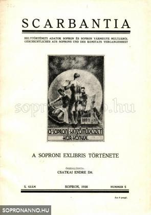 A soproni exlibris története