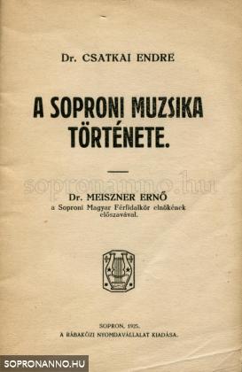 A soproni muzsika története