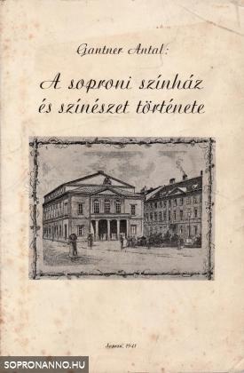 A soproni színház és színészet története