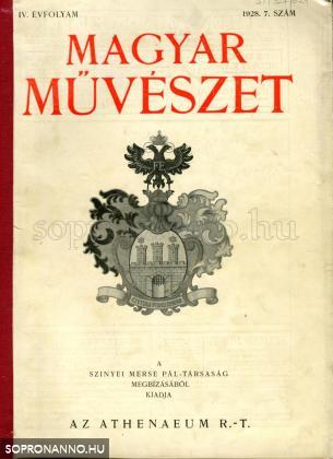 Magyar Művészet 1928/7