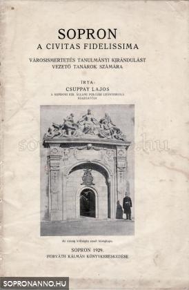 Sopron, a Civitas Fidelissima