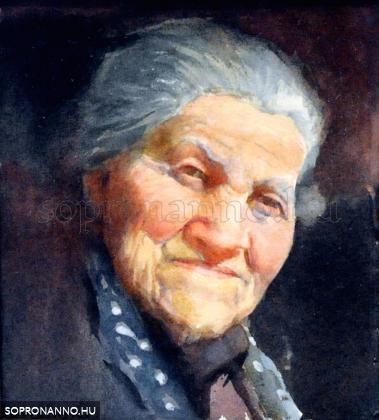 Mende Gusztáv: Édesanyám portréja