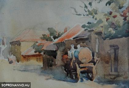 Mende Gusztáv: Lajtoskocsi