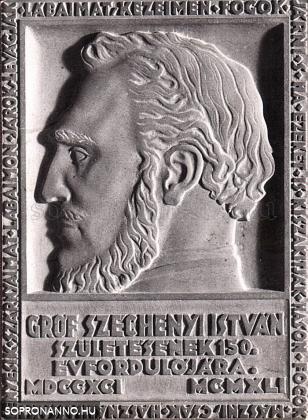 Széchenyi István - plakett