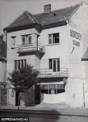 A Börzsey-ház egykor