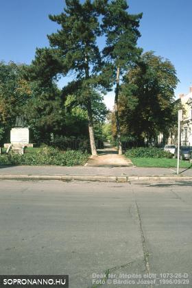 A Deák tér - Erzsébet utca találkozása