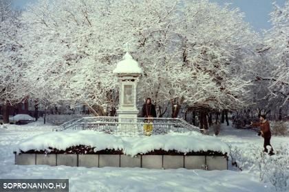 Az időjelző télen