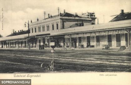 A Déli vasút állomása
