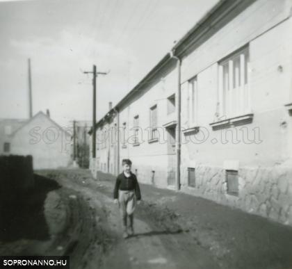 A Dózsa György utca egykor