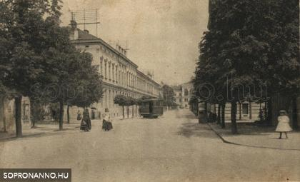 Az Erzsébet utca a Deák tér felől