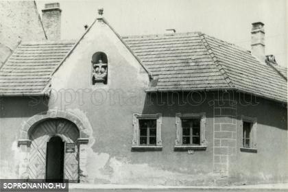 Poncichter-ház 1967-ben