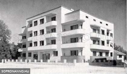 A Frankenburg u. 6. 1936-ban
