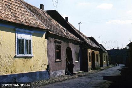 A Gazda utca az 1960-as években