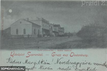 A Győri pálya-udvar
