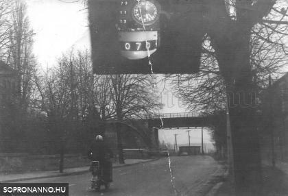 A Győri út egykor