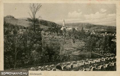 A Hősi temető és a kolostor