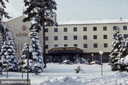 A Hotel Lövér télen