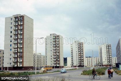 A Jereván lakótelepi buszvégállomás környéke egykor
