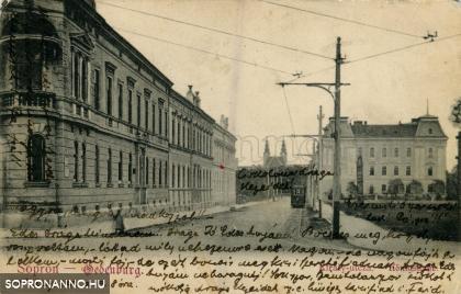 A Király-utcza 1905 körül