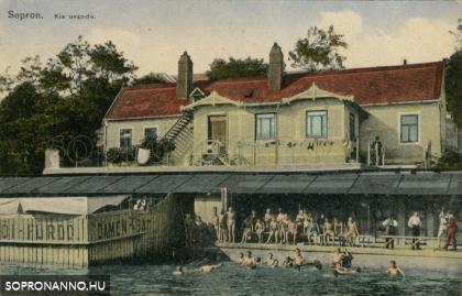A Kisuszoda korabeli képeslapon