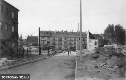 A Gyóni Géza utca 1968-ban