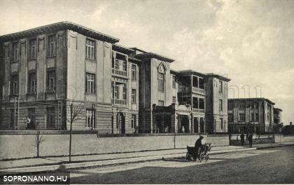 A kórház egykor