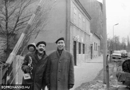 A Kossuth vendéglő 1970-ben