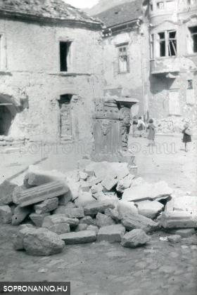 A Mária-kút romjai
