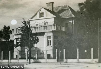A Mikoviny u. 46. számú ház 1929-ben