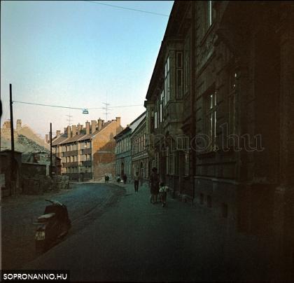 A Móricz Zsigmond utca 1970-ben