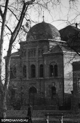 A papréti zsinagóga 1974-ben