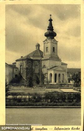 Református templom a Deák téren