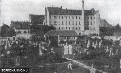 A régi evangélikus temető