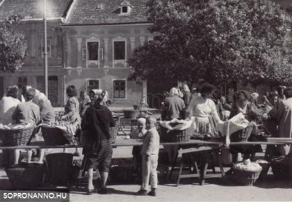 A régi piac 1962-ben