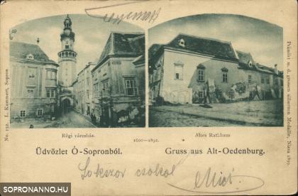 A régi városháza