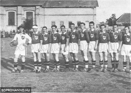 A SFAC csapata 1936-ban