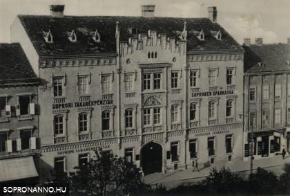 A Soproni Takarékpénztár