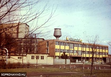 A sörgyár 1968-ban