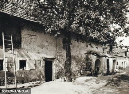 A Stagl-ház udvara