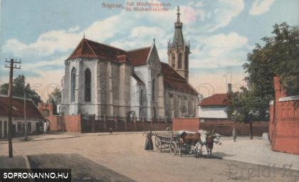 A Stornó Ferenc út és a Szent Mihály utca kereszteződése