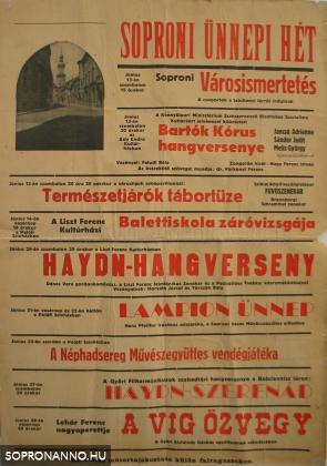 SÜH plakát - 1959.