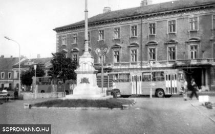Széchenyi téri részlet 1978-ból