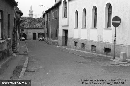 A Szeder utca 1991-ben