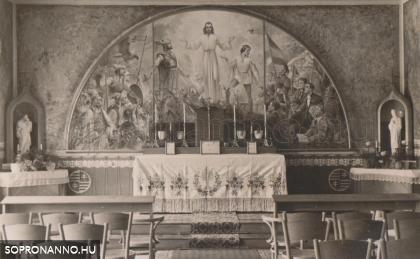 A Szent Imre Kollégium kápolnája