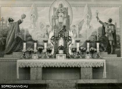 A Szent István-templom oltára
