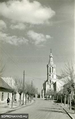 A Szent Mihály-templom 1957-ben