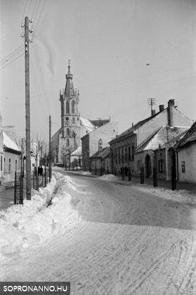 A Szent Mihály utca 1943 telén