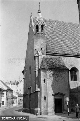 A Szentlélek-templom 1969-ben