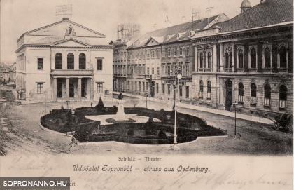 A mai Petőfi tér 1905-ben