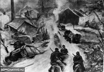 Szovjet csapatok bevonulása Sopronba